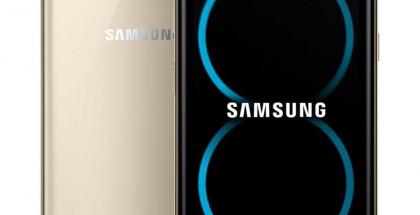Galaxy S8:n perusversiosta huhujen ja vuotojen perusteella luotu kuva.