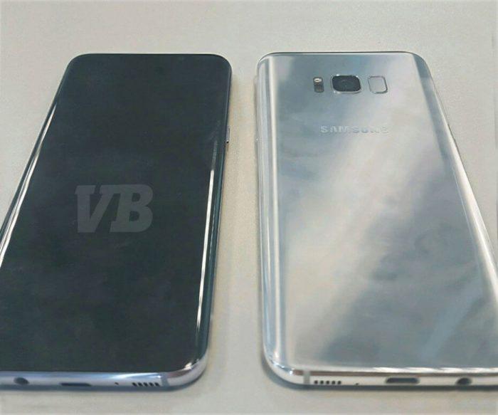 Galaxy S8. Evan Blassin VentureBeat-sivustolla aiemmin julkaisema kuva.