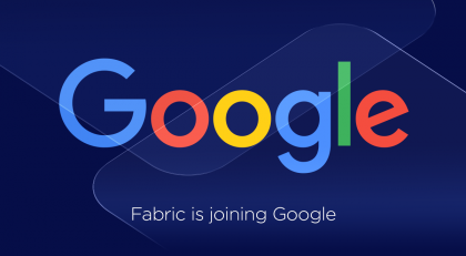 Fabric siirtyy Googlelle.