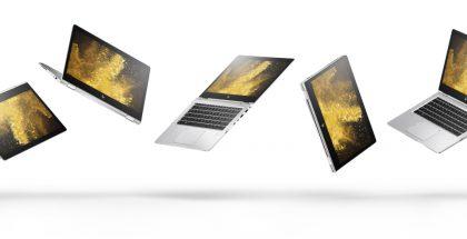 HP EliteBook x360 tarjoaa 5 eri käyttöasentoa.
