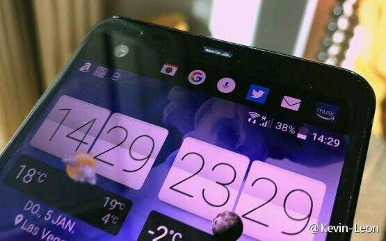 HTC U Ultra tulee sisältämään varsinaisen näytön ohella lisänäyttöalueen, jossa voi näkyä aika- ja säätietoja, ilmoituksia ja pikakuvakkeita.