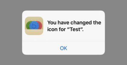 iOS 10.3:ssa sovelluskuvake voi muuttua. Ainakin toistaiseksi muutoksesta täytyy ilmoittaa erikseen.