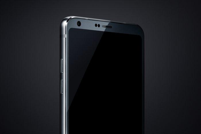 LG G6 The Vergen julkaisemassa lehdistökuvassa.