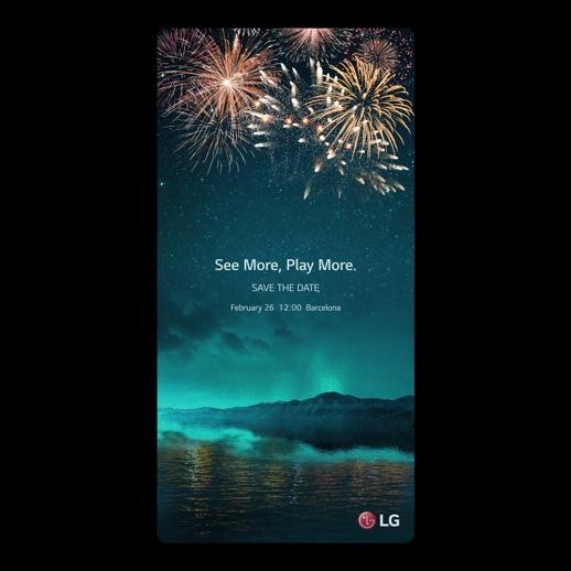 LG:n Mobile World Congress -kutsu.