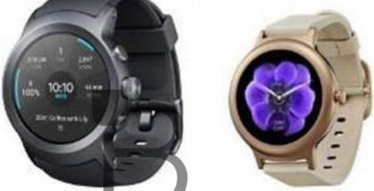 LG Watch Sport ja LG Watch Style TechnoBuffalon aiemmin julkaisemassa kuvassa.