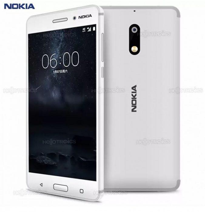 Nokia 6 valkoisena oli vain huijausta ja rujoa kuvanmuokkausta.