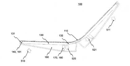 Nokian patentti esittelee sisäpuolella taittuvalla näytöllä varustettua laitetta. Samsungin huhutaan jo kehittävän ulkopuolella taittuvalla näytöllä varustettua laitetta.