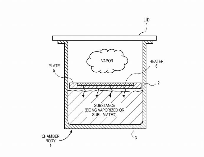 Applen patentoima höyrystin ei liity sähkösavukkeisiin, vaan piirilevyjen valmistukseen.