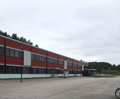 Turingin vuokraama entinen Nokian Nakolan koetehdas Salossa.