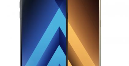Samsungin 2017-vuosimallin Galaxy A5 ja Galaxy A3 ovat ulkoisesti kokoa lukuun ottamatta käytännössä identtisiä.