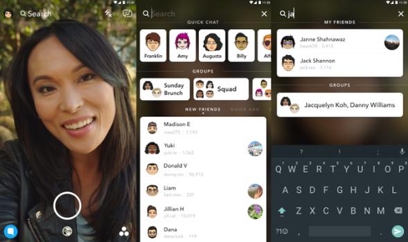 Snapchat uudisti sovellustaan hiljattain uudella haulla.