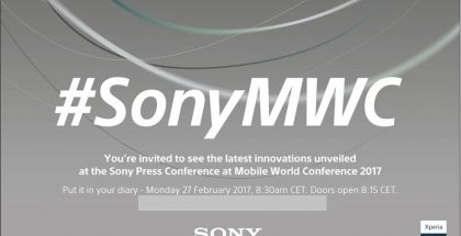 Sonyn Mobile World Congress -kutsu.