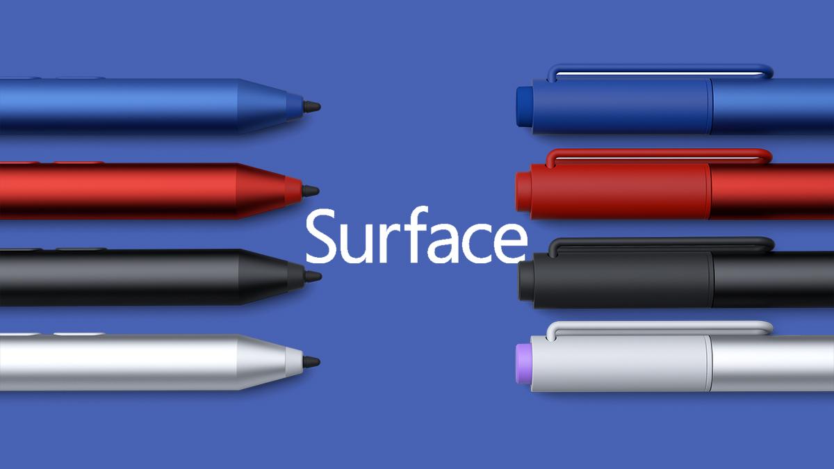 surface-pro-4 kynä
