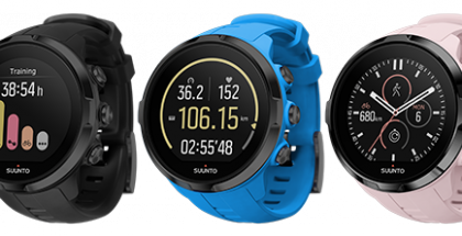 Suunnon Spartan Sport Wrist HR:n värivaihtoehdot.