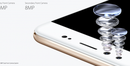 Kaksoisetukamera on vivo V5 Plussan erikoisuus.