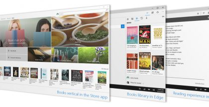 Kirjakauppa tulee Windows 10:een.