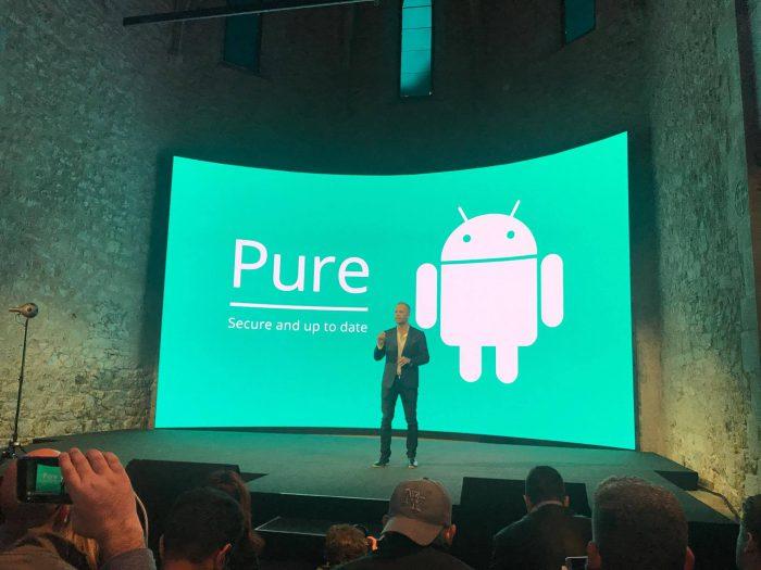 Nokia-puhelimissa on puhdas ja turvallinen Android.