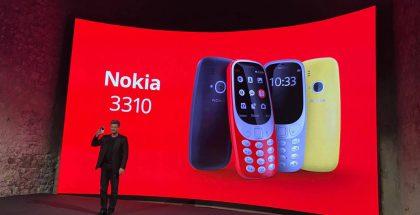 Nokia 3310:stä tuli Barcelonan mobiilimessujen yleisin puheenaihe.
