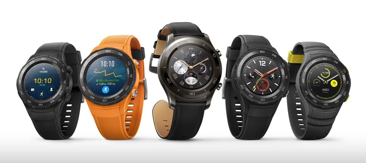 Huawei Watch 2 ja Watch 2 Classic.