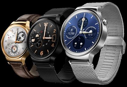 Vertailun vuoksi: alkuperäinen Huawei Watch.