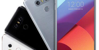 LG G6 tulee 18:9-kuvasuhteen näytöllä.