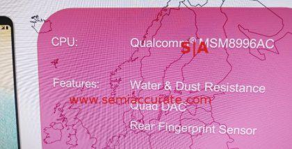 SemiAccuraten kuva LG G6:n tekniikasta.