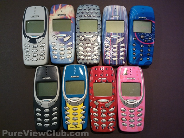 Nokia 3310 kuoret