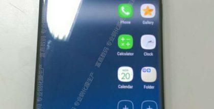 Väitetty Samsung Galaxy S8 tai S8+ -puhelin.