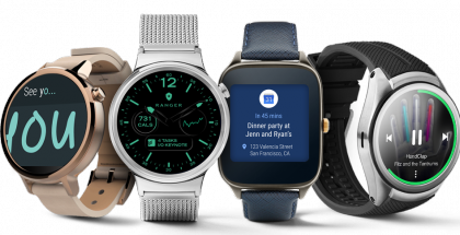 Android Wear -kelloja.