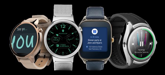 Android Wear -kelloja.