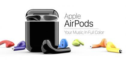 ColorWare tarjoaa AirPods-kuulokkeisiin paljon eri värejä.