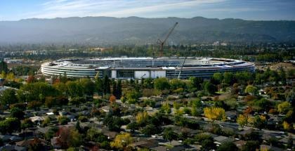 Applen uusi pääkonttori, Apple Park, on lähes valmis.