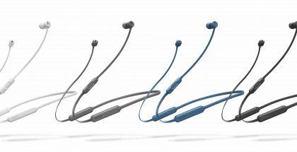 BeatsX:n neljä eri värivaihtoehtoa - harmaa ja sininen ovat uusia.
