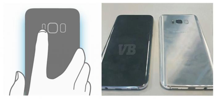 Myös Galaxy S8:n takajärjestely saa vahvistuksen.