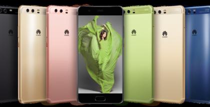 P10:ssä Huawei on panostanut laajaan värivalikoimaan. Kaikki värivaihtoehdot eivät tule Suomessa myyntiin.