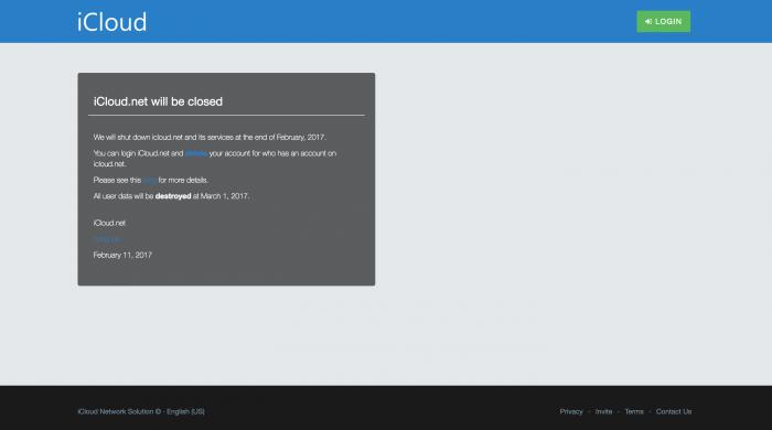 iCloud.netissä tähän asti palvellut some-yhteisöpalvelu sulkee ovensa.