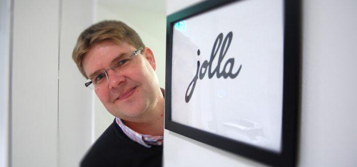 Jollan toimitusjohtaja Sami Pienimäki.