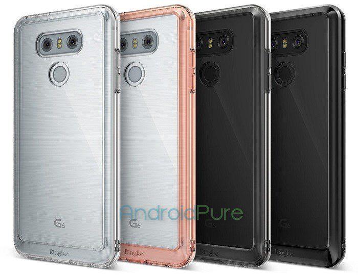 LG G6 kuorten sisällä.