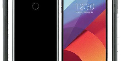 LG G6. Evan Blassin Twitterissä julkaisema kuva.