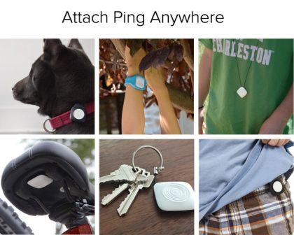 Pingin voi kiinnittää useisiin eri seurattaviin kohteisiin.