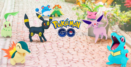 Pokémon GOn uutta toisen sukupolven Pokémon-hahmostoa.