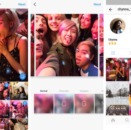 Karuselli pyörimään – Instagramiin uusi ominaisuus ahkerille kuvaajille