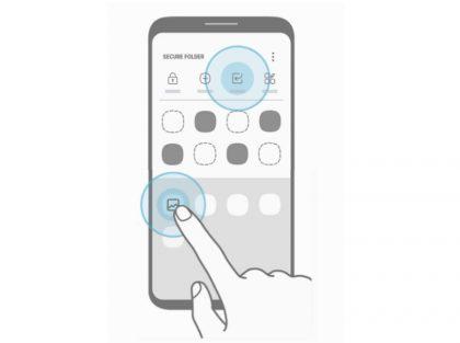 Samsung itsekin vihjaa jo Galaxy S8:sta kuvakkeessa.
