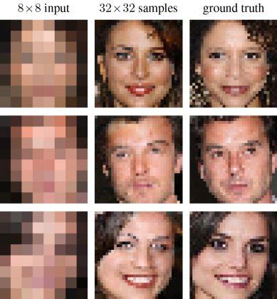 Googlen tekniikka keksii kuvaan puuttuvat pikselit ja pääsee lähelle oikeaa kuvaa.