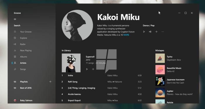 Uutta Windows 10 -sovellusilmettä Project NEONin myötä.