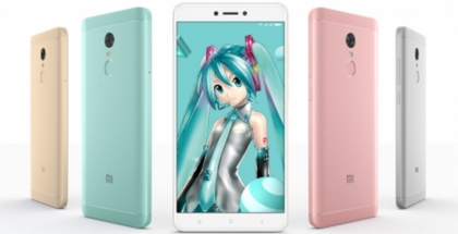 Xiaomi Redmi Note 4X eri väreissä.