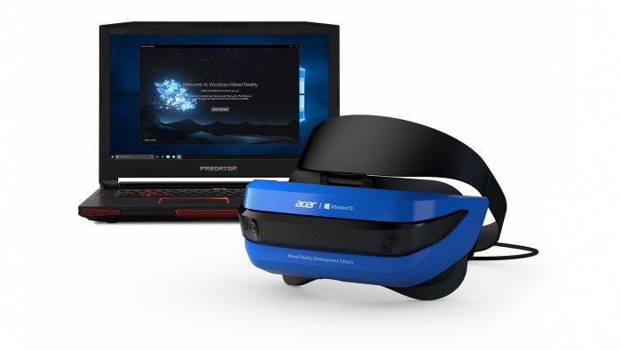 Acer Windows Mixed Reality kehittäjäversio