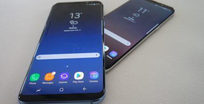 Samsung Galaxy S8 ja S8+.