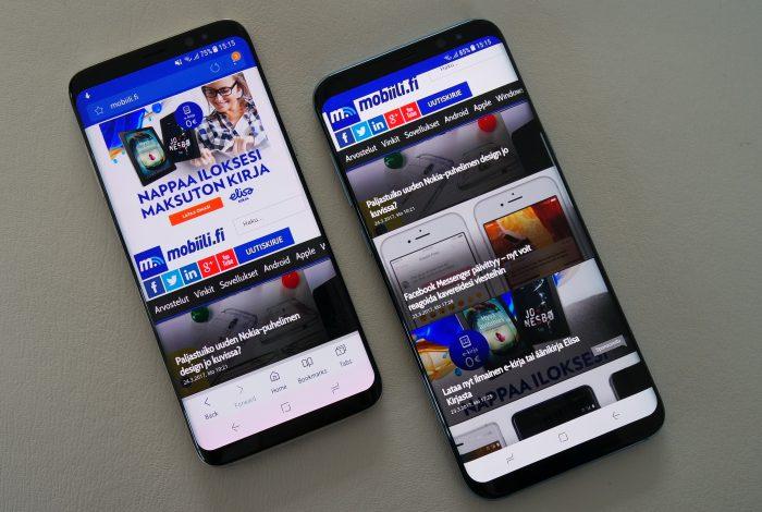 Galaxy S8 ja S8+