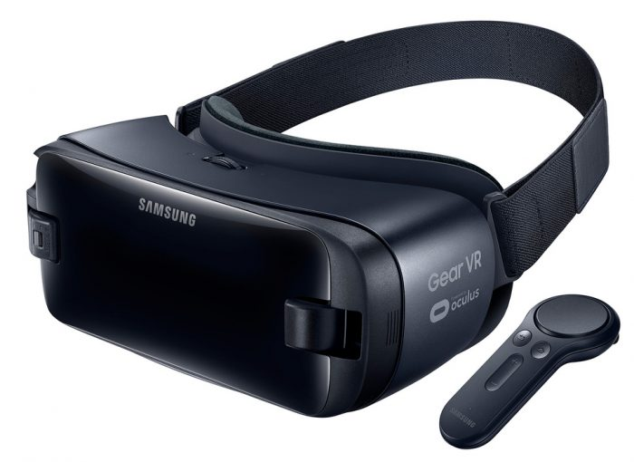 Nykyinen Gear VR.